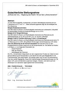 IBN-Gutachten – Bedarfsführung