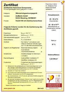 Passivhaus-Zertifikat-2017